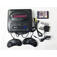 16 bit SEGA MD 2 Video Game Console with US and Japan Mode Switch,Original SEGA handles Export Russia with 105 classic games