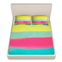 Artistic Bed Sheets   Rachel Burbee   Skies The Limit VI   Dianoche Designs