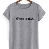ASOS T-Shirt with Nothing to wear T shirt