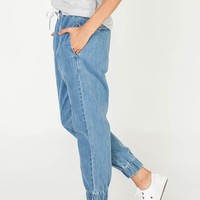 CLOVELLY PANT DENIM STONE WASH - SHOP ALL - SHOP WOMENS Assembly Label