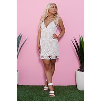 Catching Compliments Dress (Ivory)