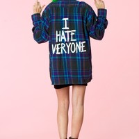 Jac Vanek: I Hate Everyone Vintage Flannel