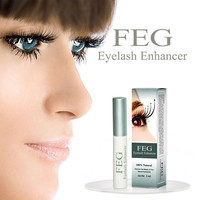 FEG Chinese Herbal Powerful Makeup Eyelash Growth Treatments Liquid Serum Enhancer Eye Lash Longer Thicker# M01542