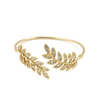 Sparkly Autumn Leaves Cuff