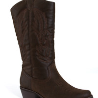 Pierre Dumas Cowgirl Boots for Women in Brown 89891-BRN