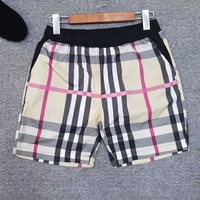 BURBERRY Hot Sale Men Casual Classic Plaid Print Sport Running Shorts