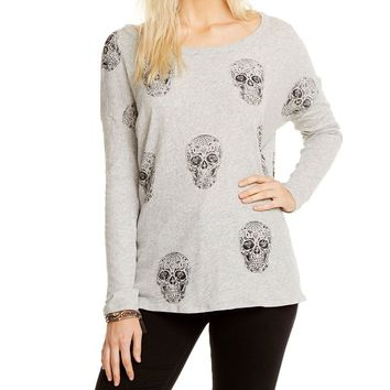 Sugar Skull Long Sleeve Tee
