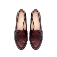 MOCCASIN WITH TRACK SOLE - Shoes - TRF | ZARA United Kingdom