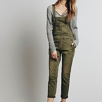 Free People Womens Beckett Twill Overall