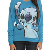 Disney Lilo & Stitch Tongue Girls Pullover Top