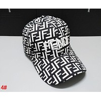 FENDI Fashionable Women Men Casual Embroidery Sports Sun Hat Baseball Cap Hat 4#
