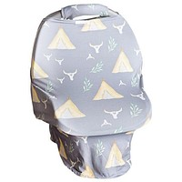 Spring TeePee Carseat Cover W/Plush Handle