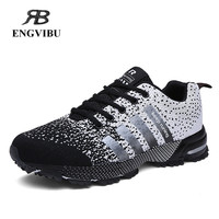 2016 running shoes for men flywire high quality sneakers men&women Breathable mesh fashion sports shoes couples shoes