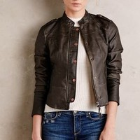 Vegan Leather Bomber