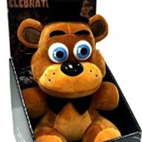 """Officially Licensed Five Nights At Freddy's 10"""" Boxed Freddy Fazbear Plush Toy"""