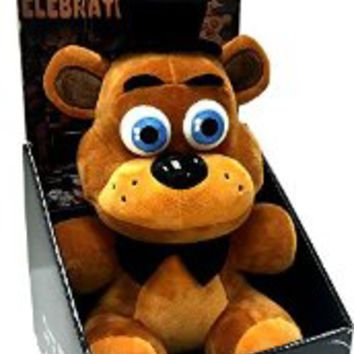 "Officially Licensed Five Nights At Freddy's 10"" Boxed Freddy Fazbear Plush Toy"