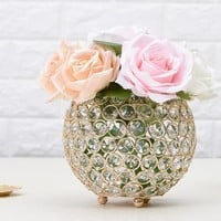 Candle Light Holders for Dining Room Decorative Crystal