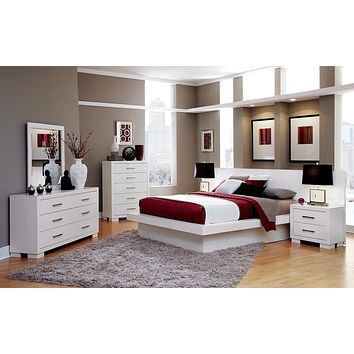 G202993 - Jessica  Bedroom Set - Bright White