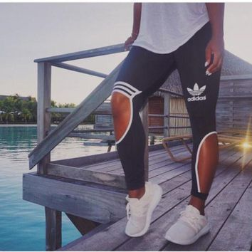 """Adidas""New Female Sweatpants Leisure Leggings"