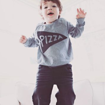 Kids Pizza Party Pullover