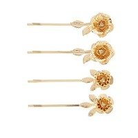 Floral Bobby Pin Set