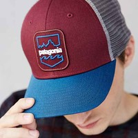 Patagonia Badge Patch Trucker Hat- Red One