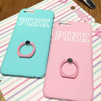Pink Cover Case for iPhone 5s 5se 6 6s Plus + Gift Box 345