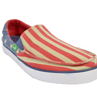Sanuk Sideline Patriot Slip On Shoes AFLG