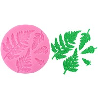 Fern Assortment Silicone Mold