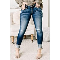 The Way Of The World Mid Rise Skinny Jeans