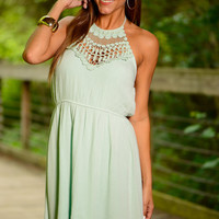 What Makes You Happy Dress, Mint