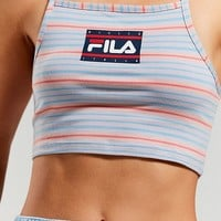 FILA + UO Florita Striped Cropped Top | Urban Outfitters