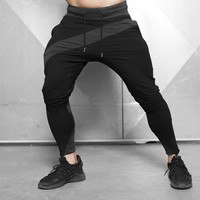 2018 Trousers Male Joggers Jogging Pants Men Bodybuilding Fitness Sweatpants Jogger Gym Training Sport Pants Mens Running Pants