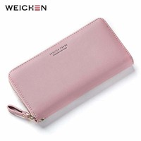 Women's Long Clutch Style Wallet Wristlet