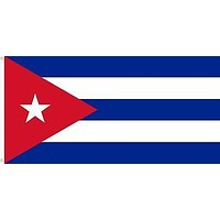 Bandera Cuba Flag 2ft x 3ft Printed with Metal Grommets Double Sided New