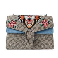 Gucci GG Dionysus Embroidered Medium Bag
