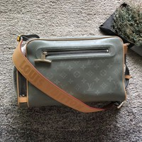 Louis Vuitton LV Monogram Titanium Camera bag