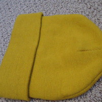 Mustard Yellow Beanie from Vintage Feel