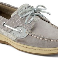 Sperry Top-Sider Bluefish Quilted 2-Eye Boat Shoe Charcoal, Size 10M  Women's Shoes