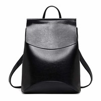 Youth Leather Backpacks  Shoulder Bag