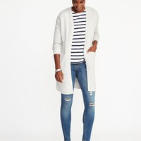 Open-Front Bouclé Sweater for Women   Old Navy
