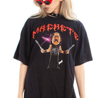 Not-Quite-Vintage 2010 Machete Tee - One Size Fits Many