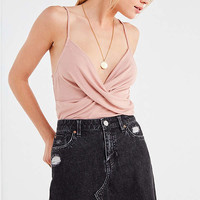 UO Crossover Ribbed Cami | Urban Outfitters