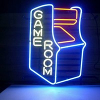 New Video Game Room Real Glass Neon Light Sign Home Beer Bar Pub Sign L18