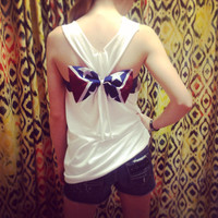 Rebel Flag Bow Racerback Tank Top Redneck Mudding Camo Swimsuit Cover-up Bridesmaids Gift
