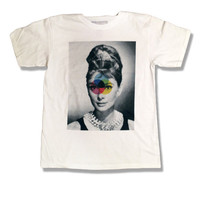 Holiday Sale - 15 Dollars- Audrey Hepburn Shirt - Celebrity - All Sizes Available