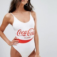 Chaser Exclusive Coca-Cola Swimsuit at asos.com