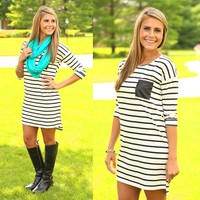 Line Up Tunic Dress