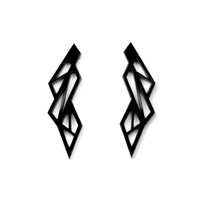 Lattice Stud Earrings