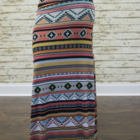 AZTEC WONDERLAND MAXI SKIRT